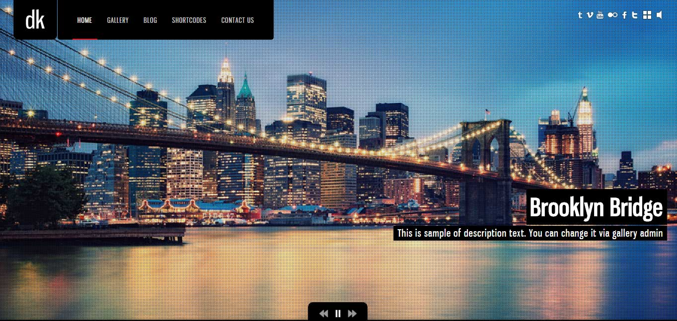 DK - Best Photography WordPress Themes