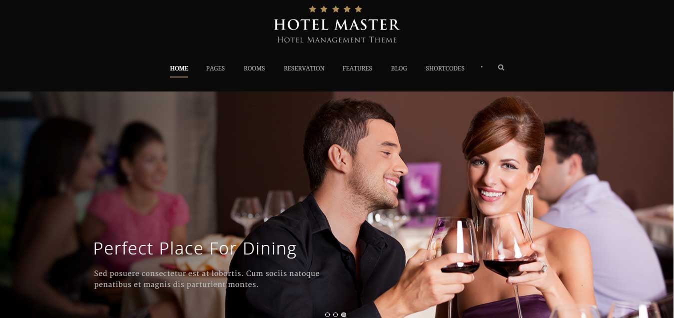 Hotel Master - Powerful WP Theme