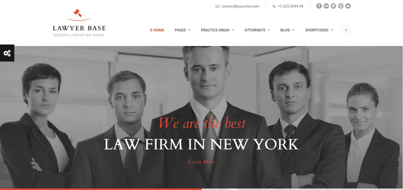 Lawyer Base - Best Attorneys WP Theme
