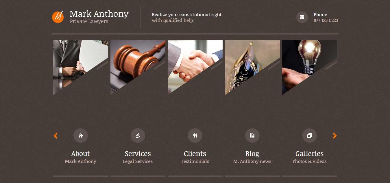 Themis - Professional Lawyer WP Theme