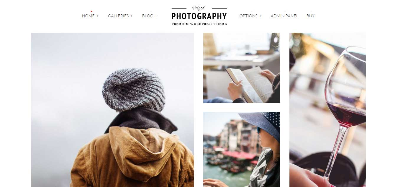 Tripod – Top Photography WordPress Theme