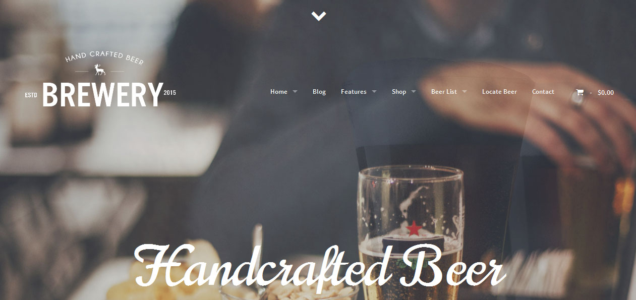 Brewery - Brewery WordPress Themes