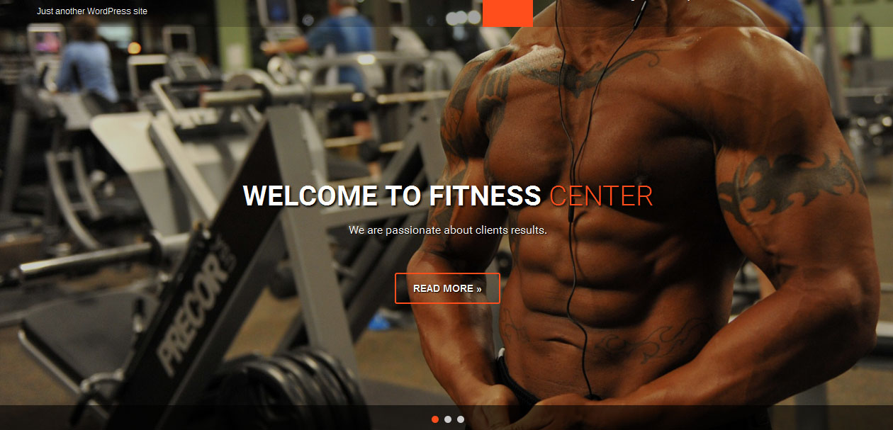 Fitness Lite - Free Fitness WordPress themes