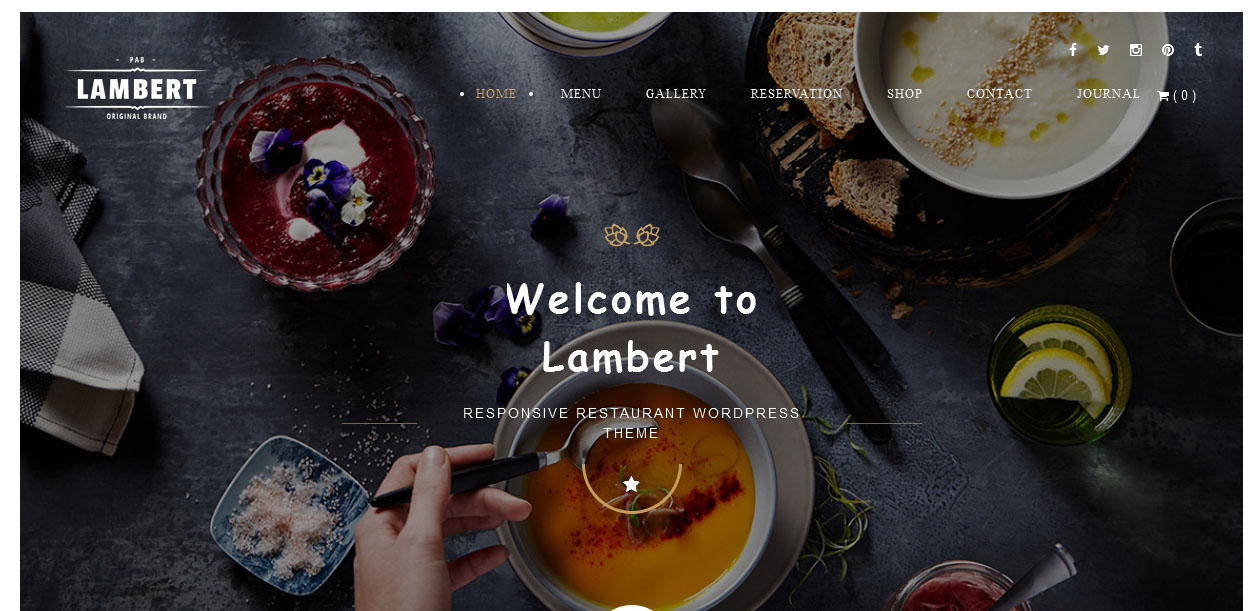 Lambert - Brewery WordPress Themes