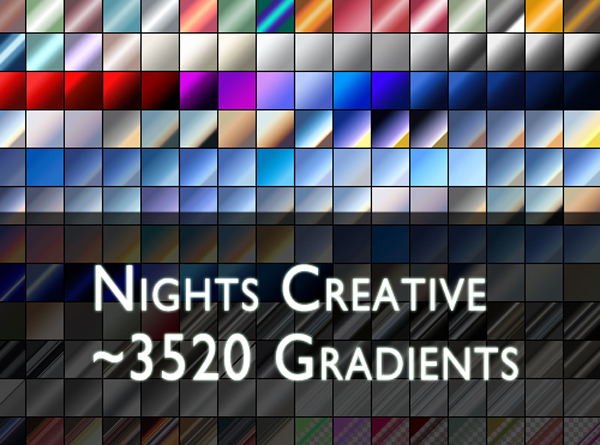 320 Great Free Photoshop Metal Gradients