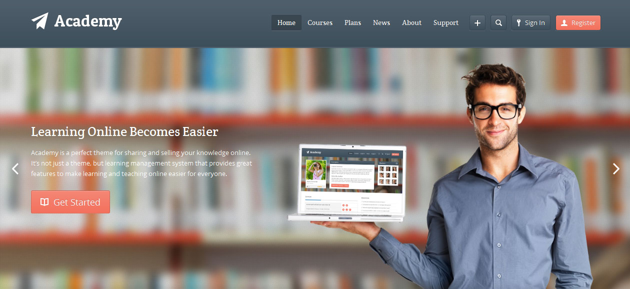 Academy - Academic WordPress Premium Themes