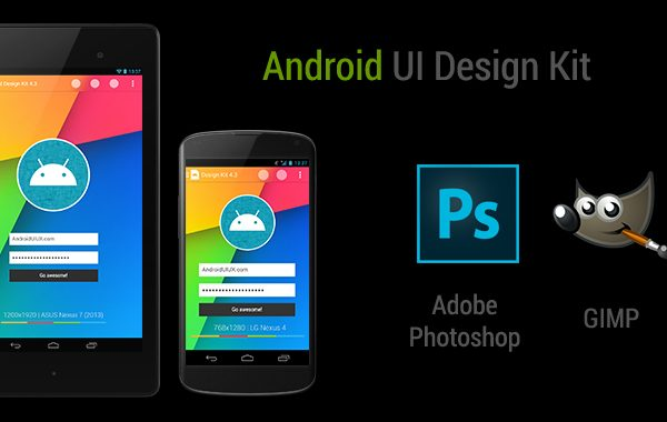Android UI Design Kit