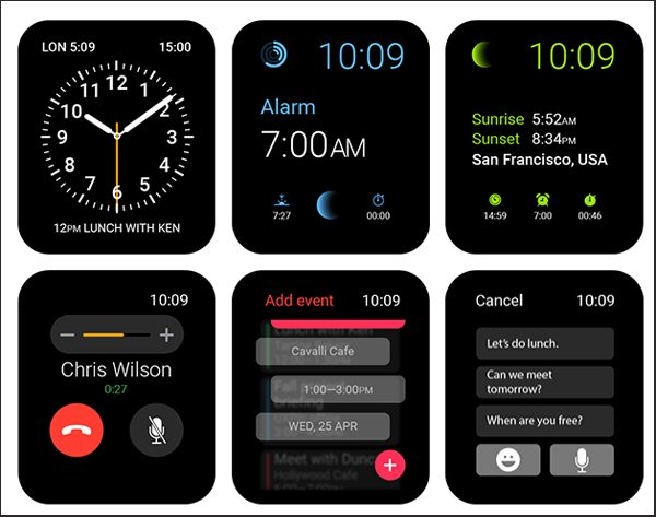 Apple Watch User Interface Design Kit