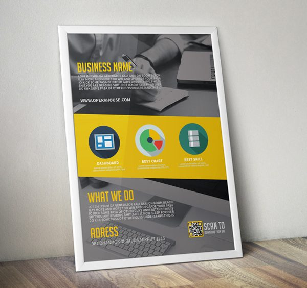 Beautiful Free Corporate Flyer for Designer