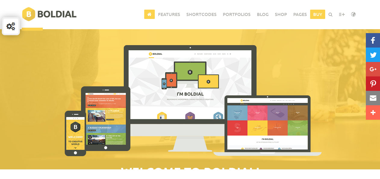 Boldial WP - 3D WordPress Premium Themes
