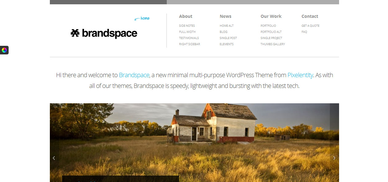 Brandspace - Small Businesses WordPress Themes