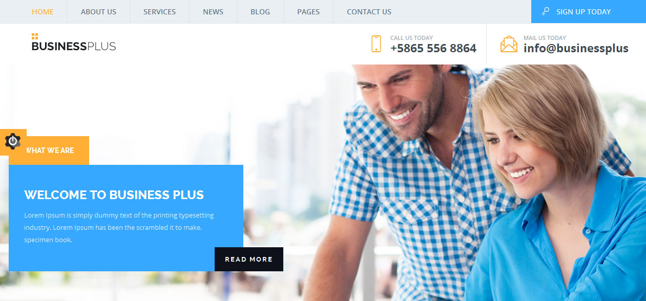 Business Plus - Small Businesses WordPress Themes