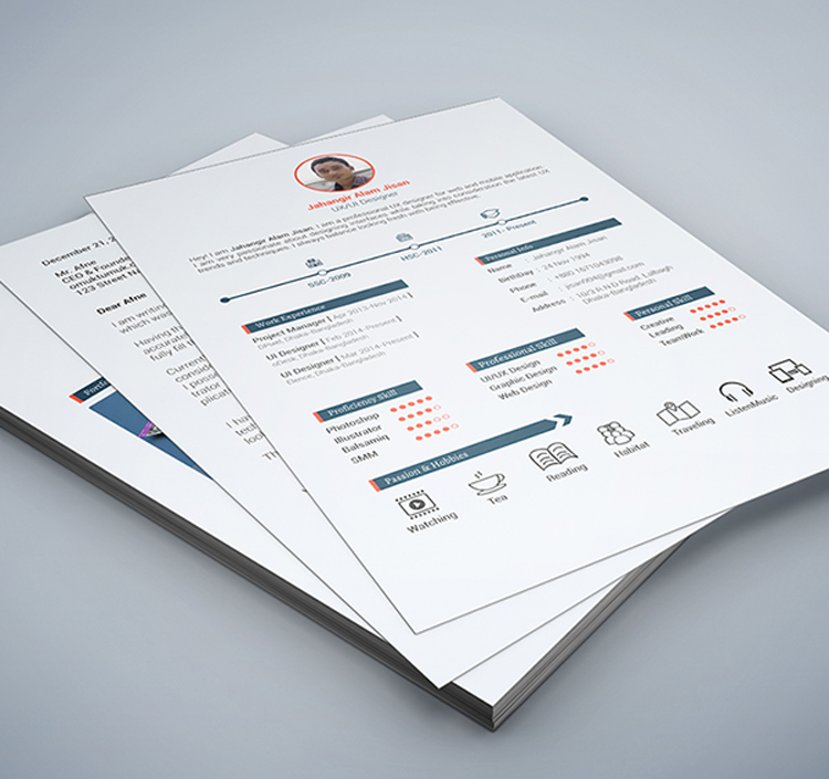 Creative Resume Template To Download