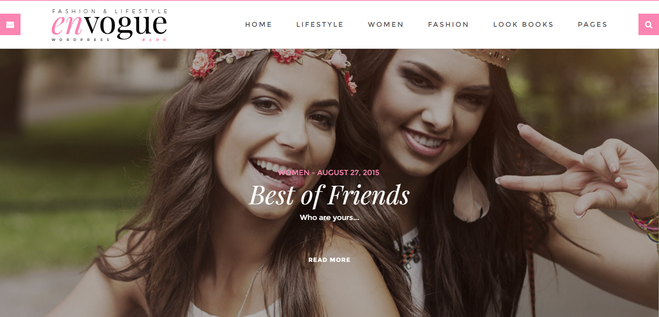 EnVogue - Fashion & Lifestyle WordPress Blog Theme