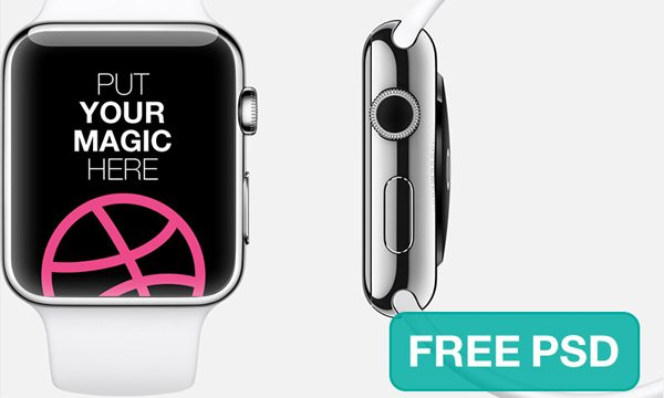 Fantastic Apple Watch Design Template