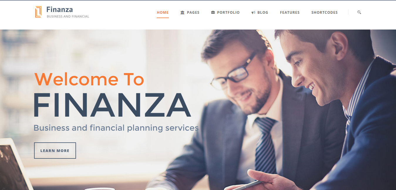 Finanza - Business WordPress Theme