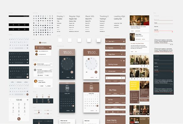 Free Android UI Kits To Download