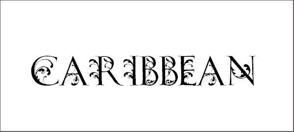 Free Caribbean Tool Font