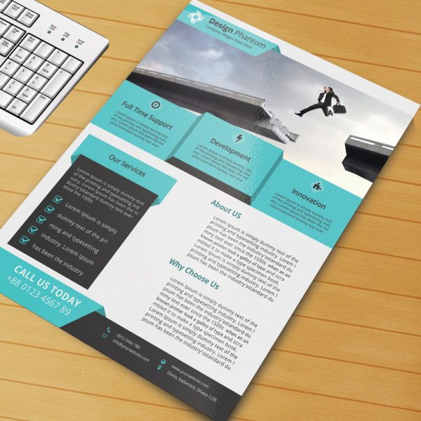 Free Flyer PSD Template for Download