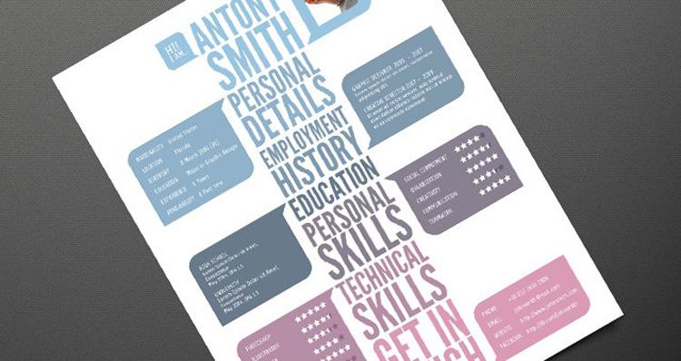Free Modern Creative Resume Template
