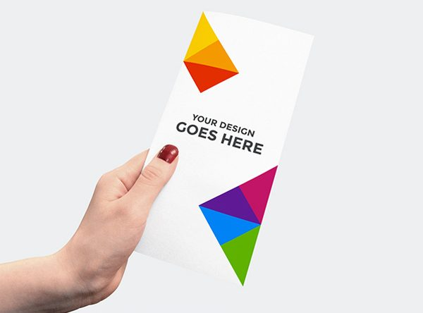 Free Simple Flyer Mockup