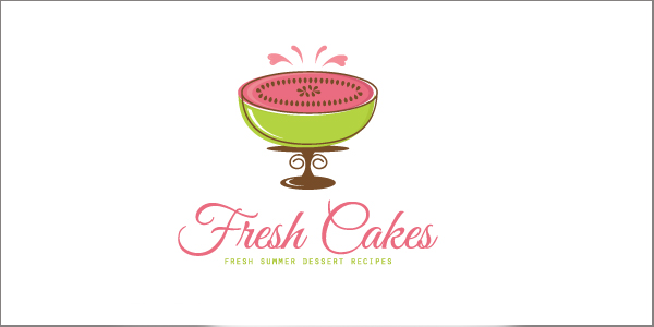 Fresh Watermelon Cakes Bakery