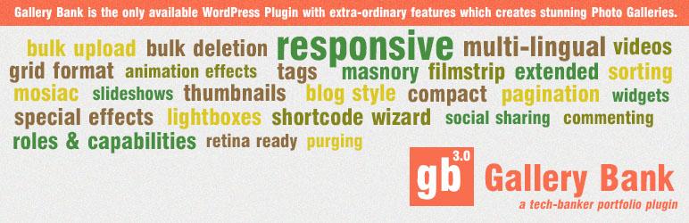 Gallery Bank - Grid Gallery Plugins for WordPress