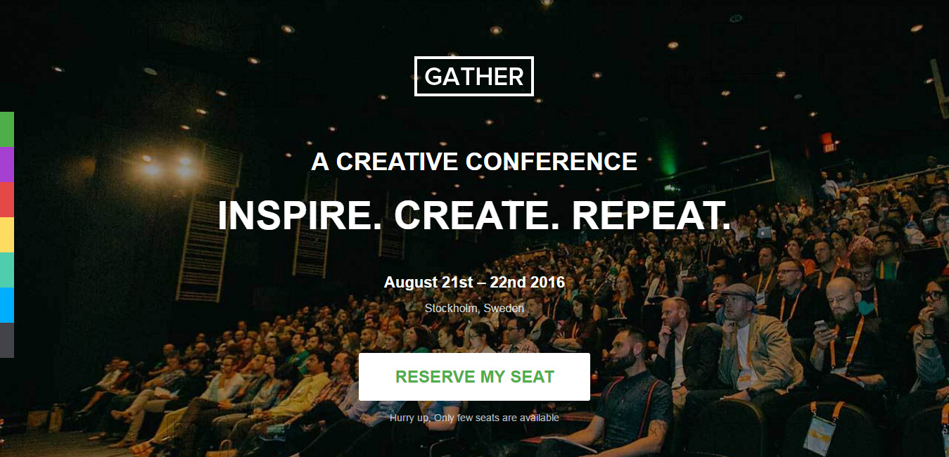 Gather - Event WordPress Landing Page Theme