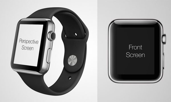 Latest Free Apple Watch PSD Template