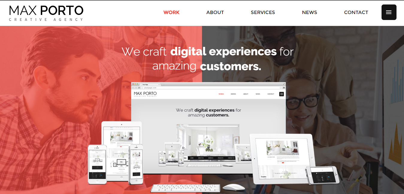 Max Porto - Masonry Layout WordPress Themes