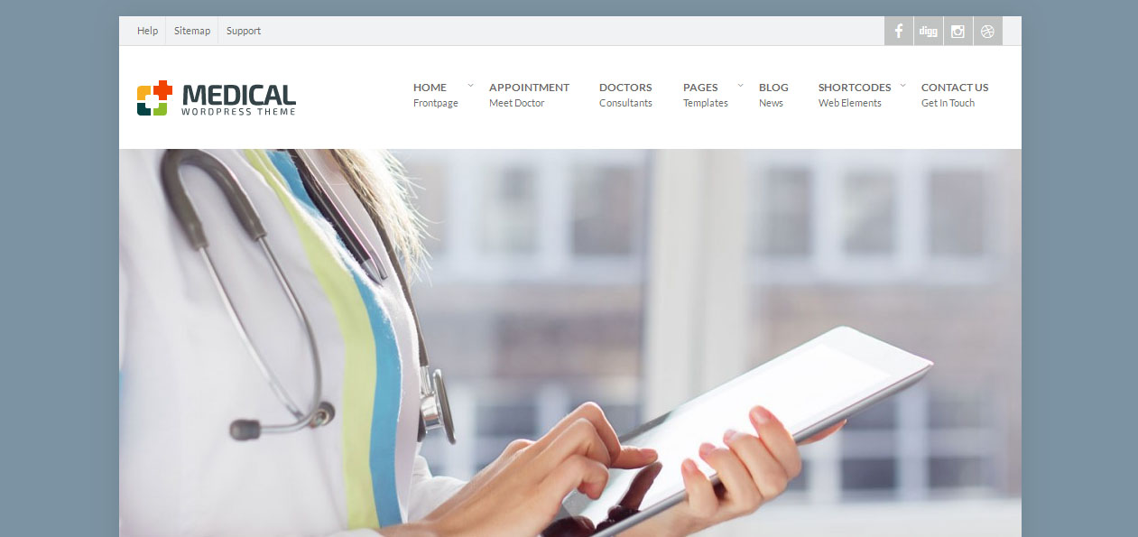 Medical - Doctors WordPress Themes