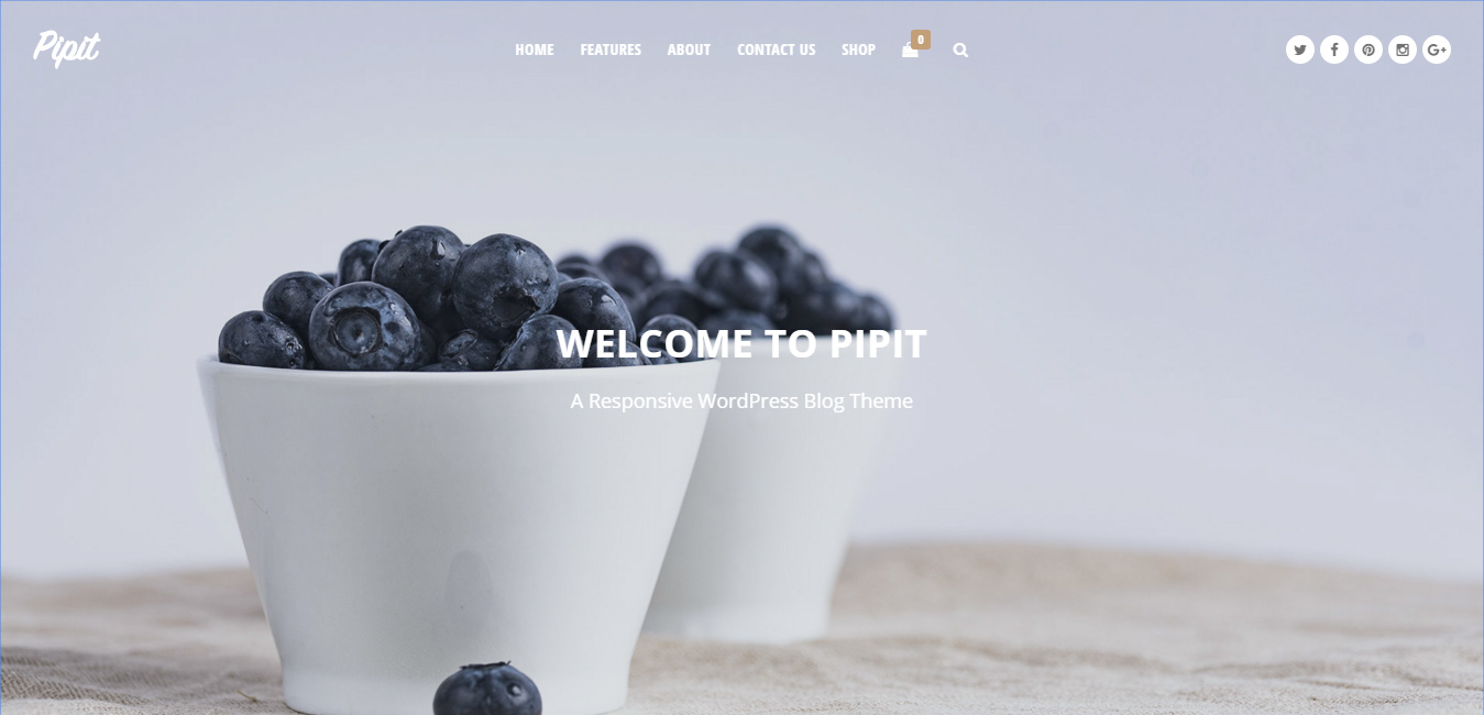 Pipit - Responsive WordPress Blog Theme