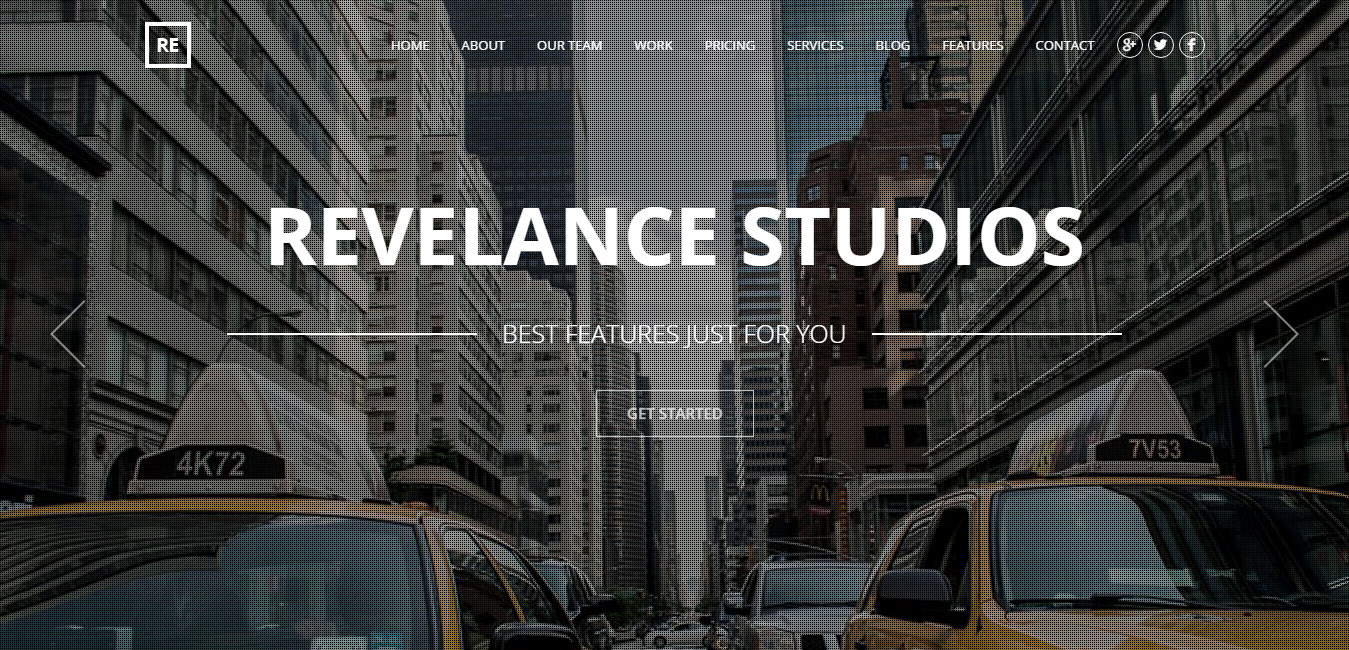 Revelance - Multi Page Business Parallax Theme