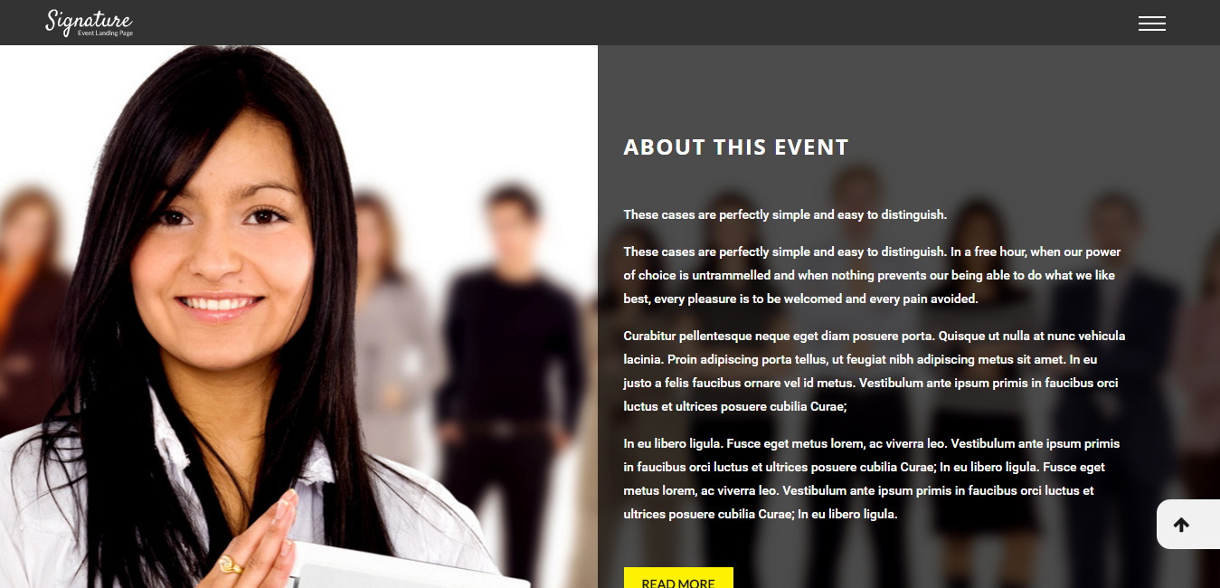Signature - Conference Event WordPress Theme