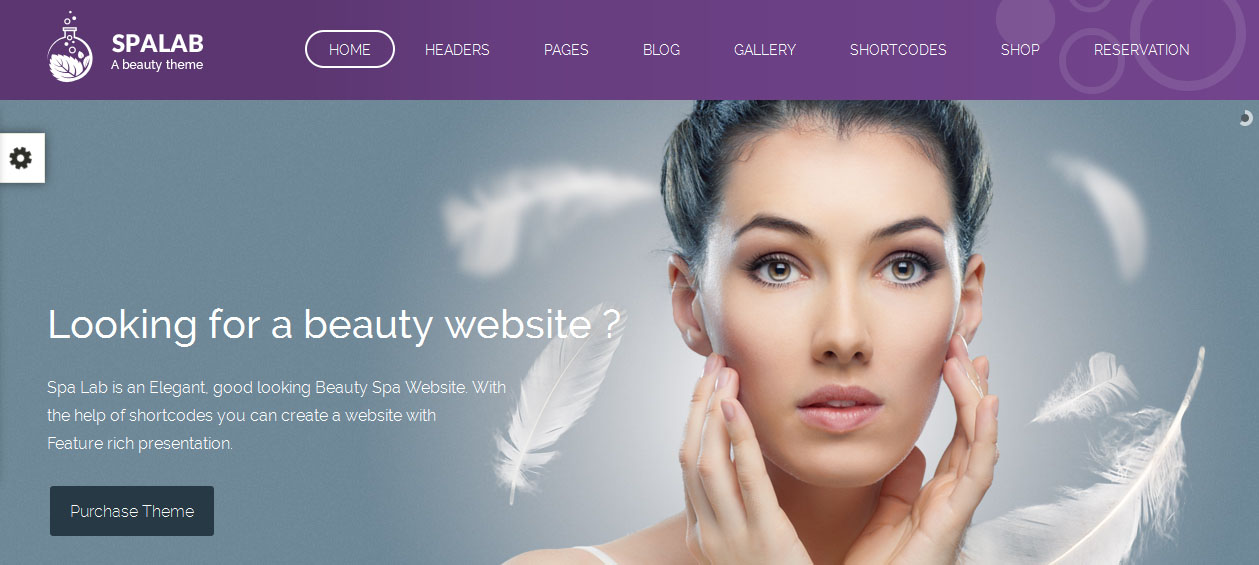 Spa Lab - Female WordPress Themes