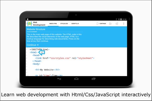 AIDE Web - Html, Css, JavaScript App