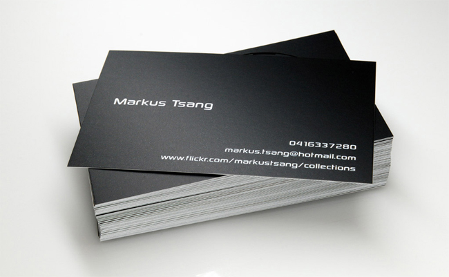 Awesome Minimalistic Business Cards Designs