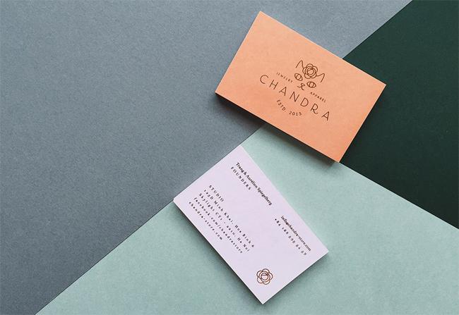 Chandra Brand Business Card