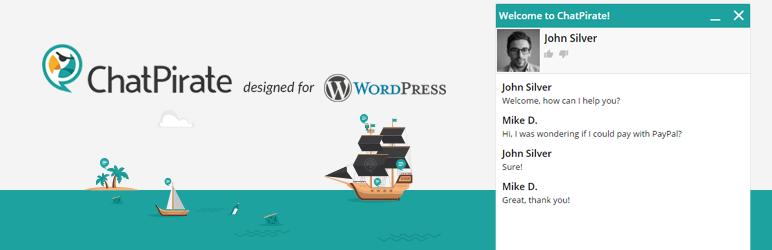 ChatPirate在线聊天 -  wordpress客户服务插件