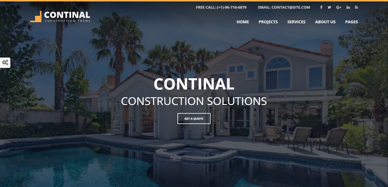 Continal - Construction & Business WordPress Theme