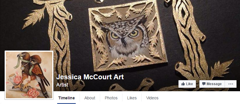Jessica McCourt - Talented Artists To Follow On Facebook