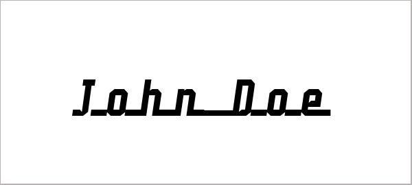 John Doe Font