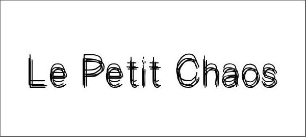 Le Petit Chaos Font