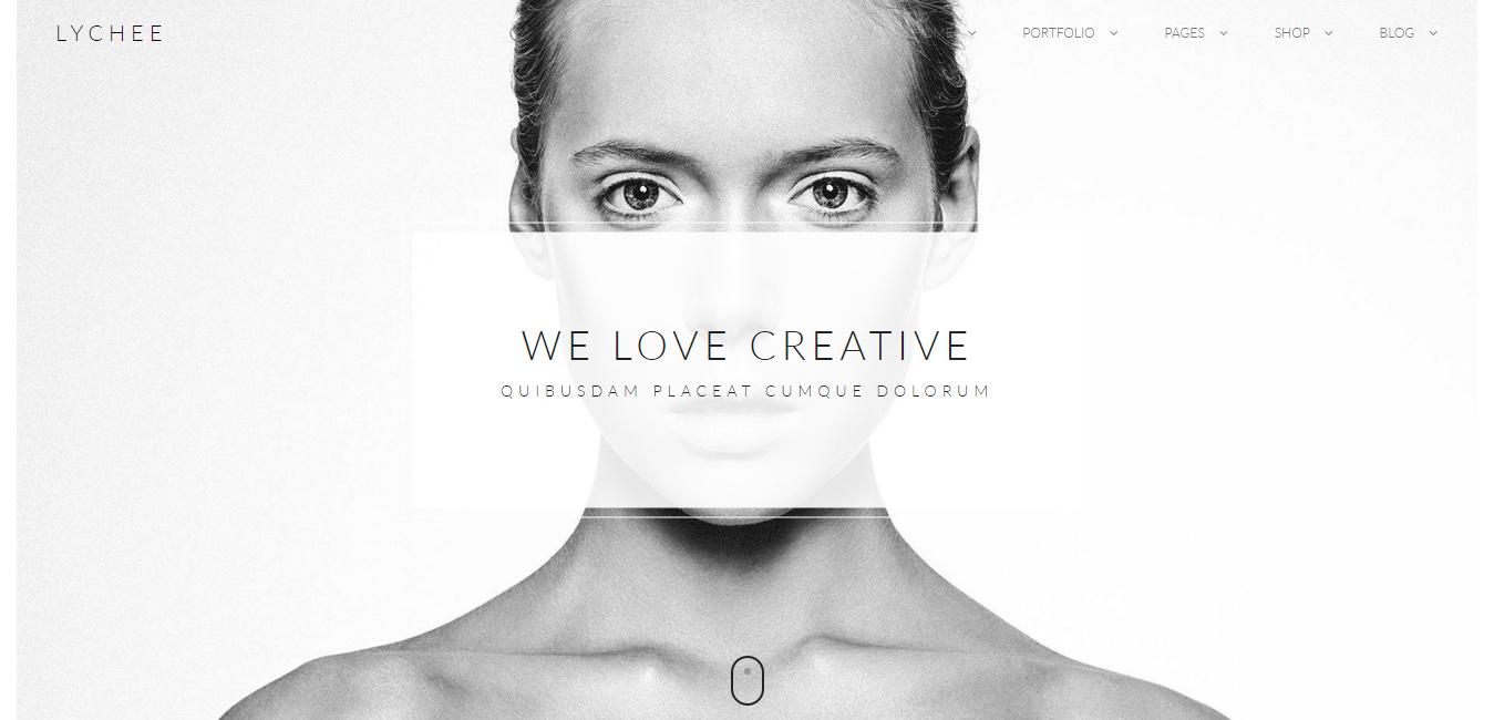 Lychee - Clean Multi-Purpose Portfolio Theme