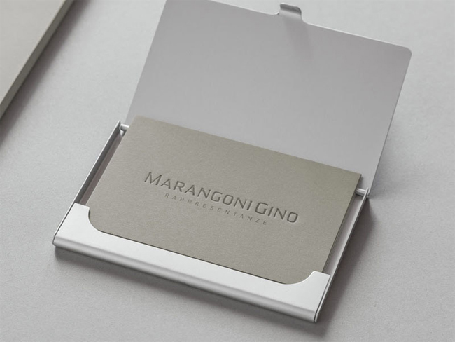 Marangoni Gino Business Card