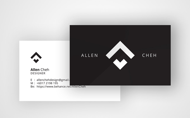 Minimal Personal Business Card