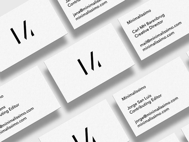 Minimalissimo Business Card