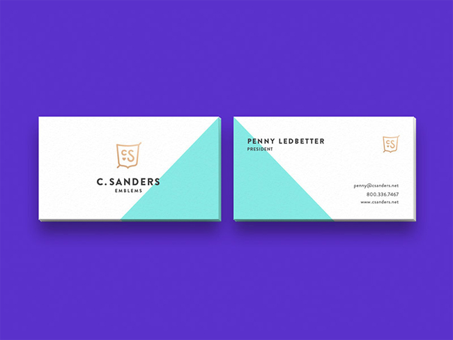 Minimalist Business Card Ideas