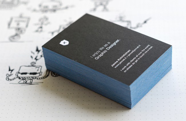 Personal Business Cards of Janne Koivistoinen