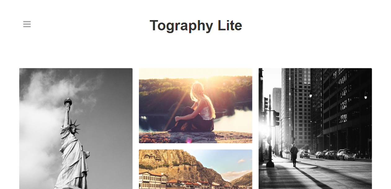 Tography Lite - Photography Portfolio WordPress Themes
